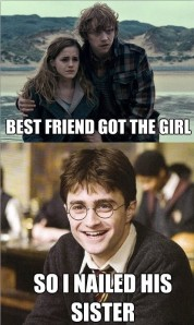 Harry Potter - Best Friend Got The Girl, So I Nailed Her Sister
