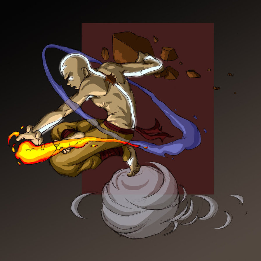 Avatar Aang: Visual Character Profile: Avatar Aang Gallery