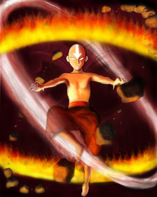 Movie Avatar State Aang: Visual Character Profile: Avatar Aang Gallery
