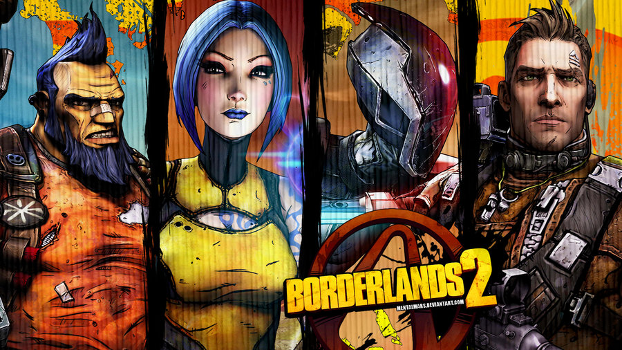 Borderlands 2 Class Wallpaper: Prepping For Borderlands 2 And A Media Consolidation
