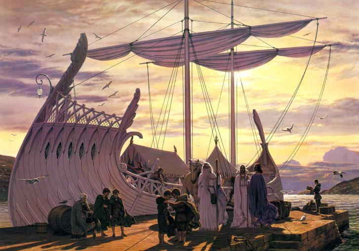 The corsair ship that Aragorn attacked - The Journey - Fotopages.com