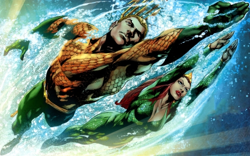 Aquaman and Mera Wallpaper