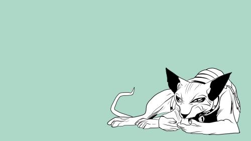 lying cat leg fix