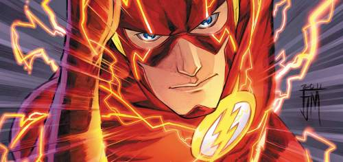 the flash move forward