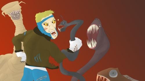 animal man vs. the rot