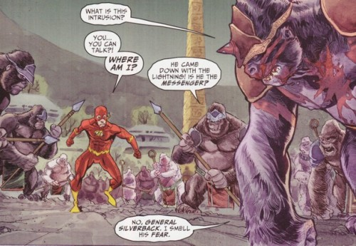 Flash and Grodd